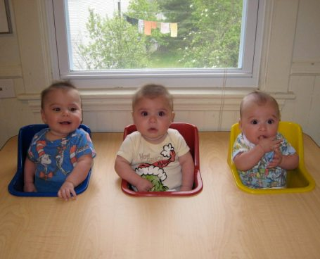 Feeding table and 6 month b-day